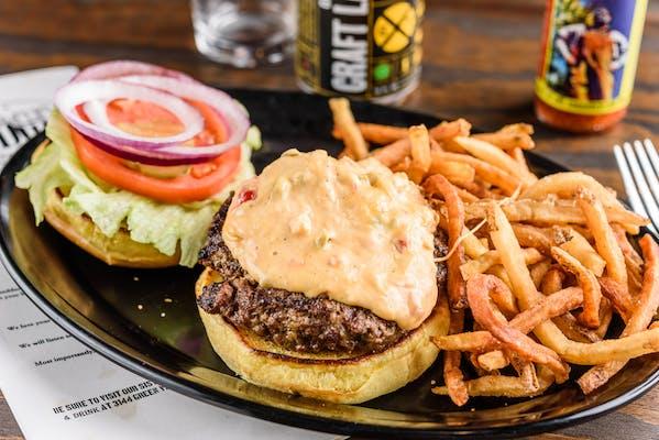Pimiento Cheeseburger