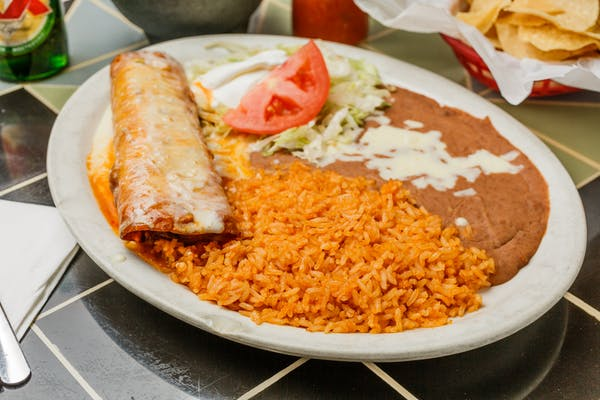 17. Chimichanga Grande (Lunch)