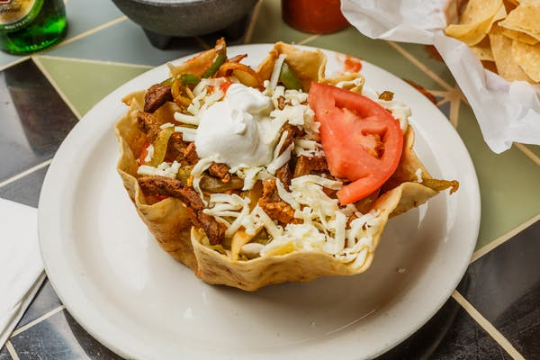 21. Fajita Taco Salad (Lunch)