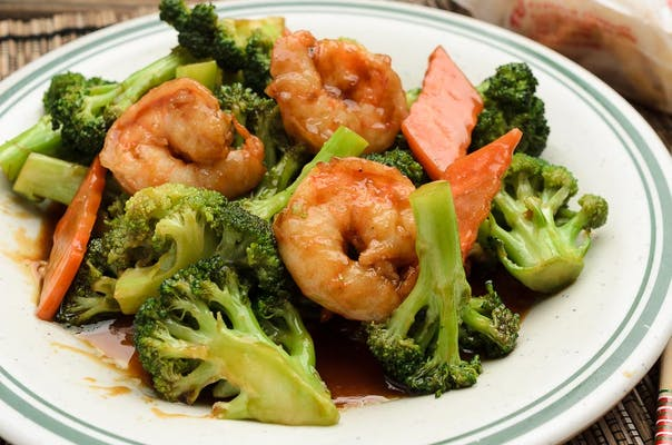 92. Shrimp with Broccoli