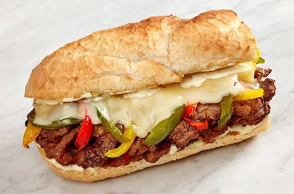 Steak and Roasted Pepper Sandwich