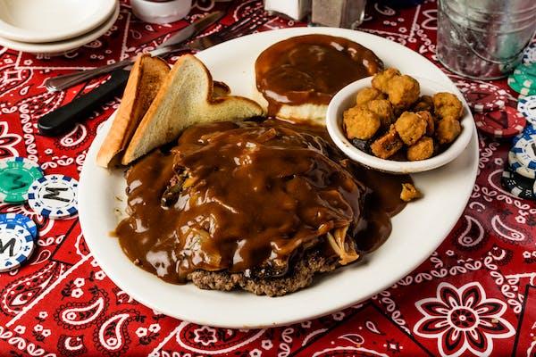 (1 lb.) Hamburger Steak