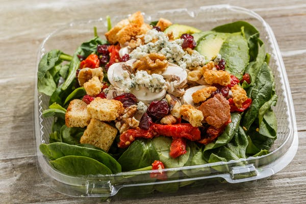 Walnut Spinach Salad