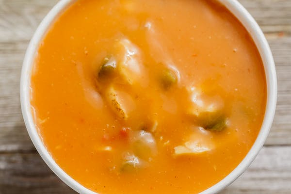 Baja Chicken Enchilada Soup