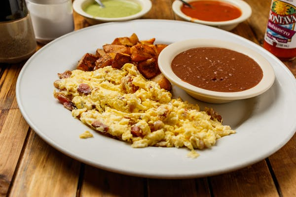 Scrambled Eggs Plate