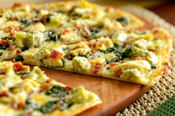 Chicken Bacon Artichoke Pizza