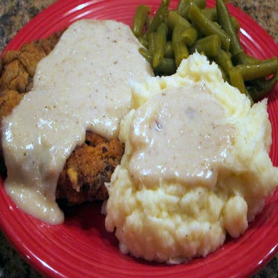 #128 Country Fried Steak Dinner