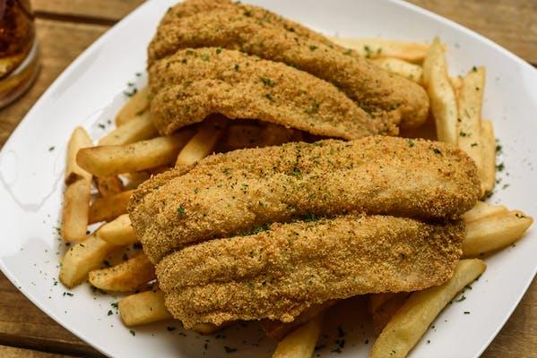 (2 pc.) Fried Fish & Fries