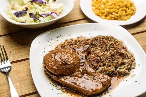 Fried Pork Chop & Rice & Gravy