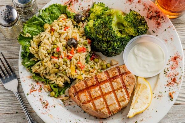 Yellowfin Tuna Plate