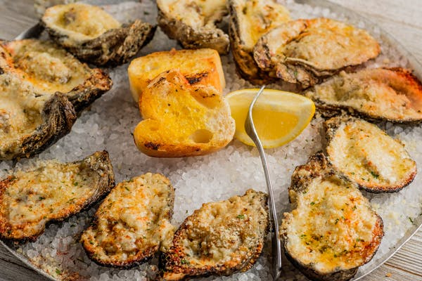 Fresh Chargrilled Oysters