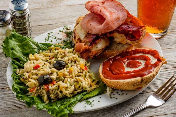 Chicken, Ham & Bacon Combo