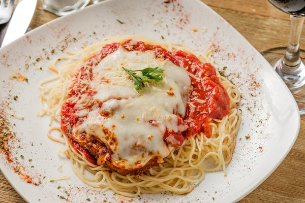 Eggplant, Chicken, or Veal Parmesan