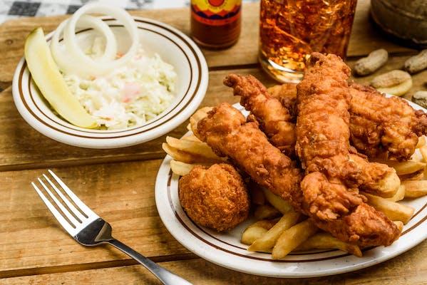 (6) Regular Chicken Strips