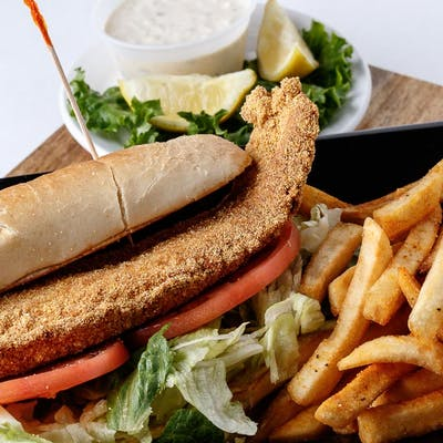 Catfish Po-Boy Basket