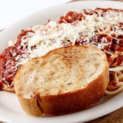 Kid's Spaghetti & Sauce