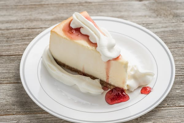 New York Cheesecake Slice