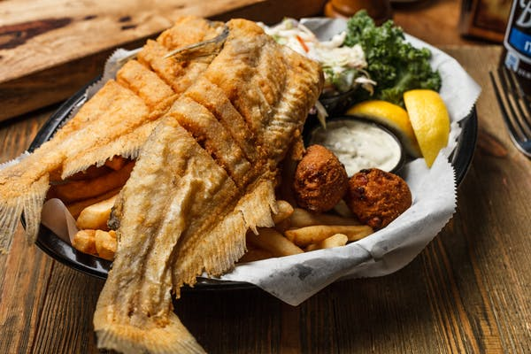 Whole Fried Catfish Box