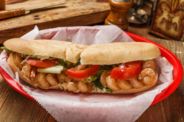 Boiled Shrimp Poboy