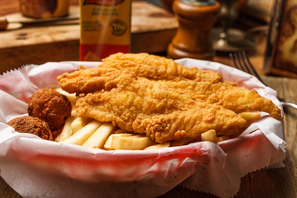 Kid's Fried Fish Combo