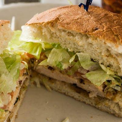 Chicken Paillard Sandwich