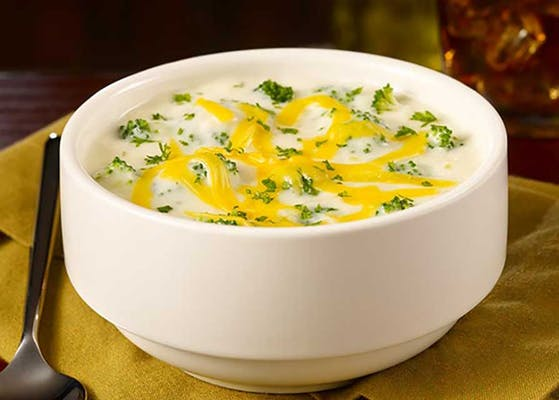White Cheddar Broccoli Cheese Soup