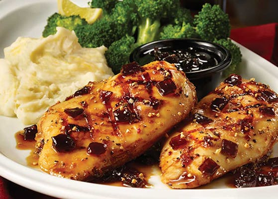 Fridays Signature Whiskey-Glazed Chicken & Shrimp