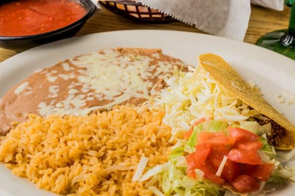 L9. Tacos, Rice & Beans