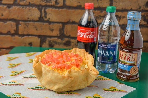 Macho Fiesta Salad Coca-Cola Combo