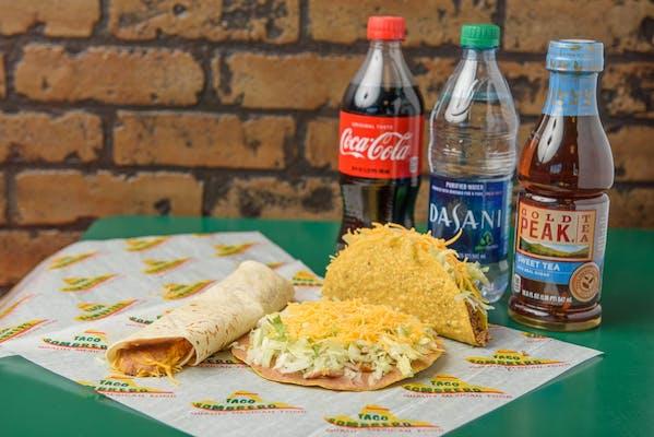 Bean Burrito Coca-Cola Combo
