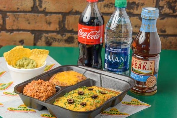 Enchilada Plate Coca-Cola Combo