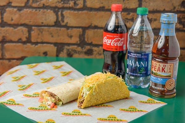 Macho Burrito Coca-Cola Combo