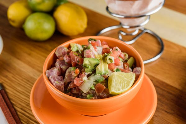 Yellowfin Tuna Ceviche