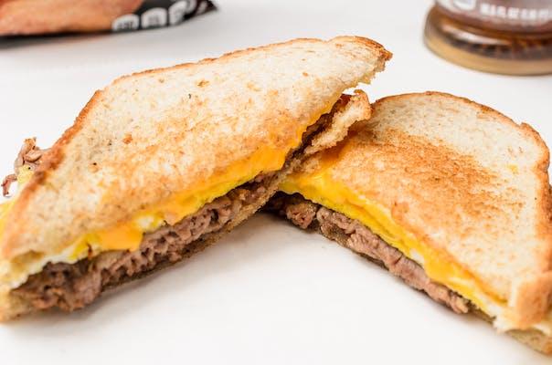 Steak, Egg & Cheese Sandwich (Breakfast)