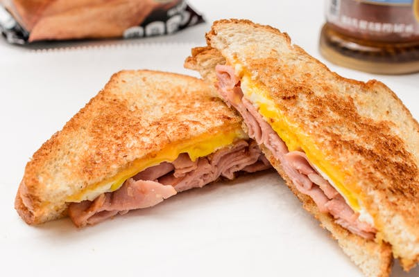 Ham, Egg & Cheese Sandwich (Breakfast)