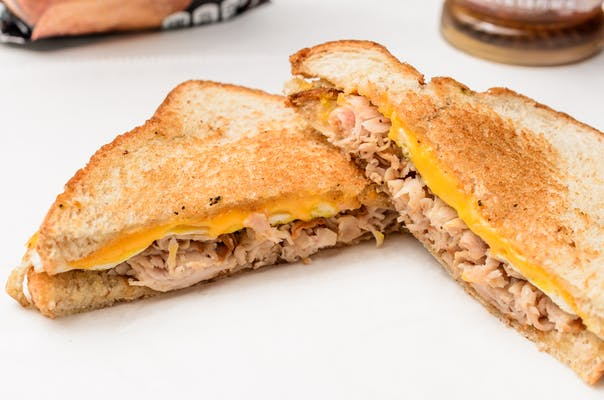 Turkey, Egg & Cheese Sandwich (Breakfast)