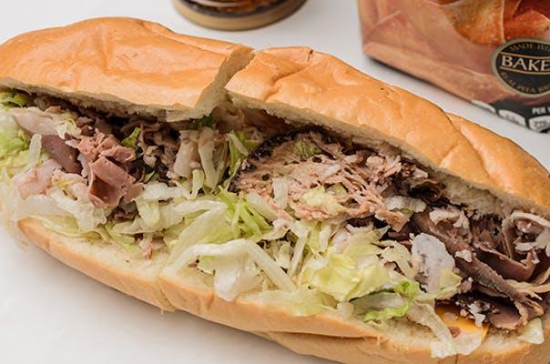 Bull 'N Gobble Sandwich or Wrap