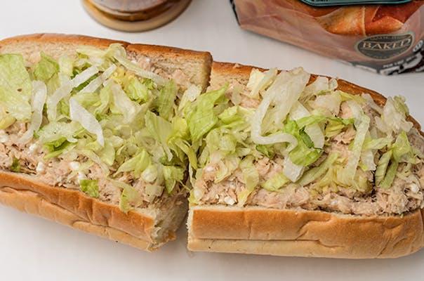 Greek Tuna Salad Sandwich or Wrap