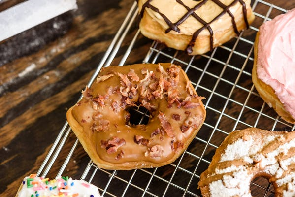 Maple Bacon Donut