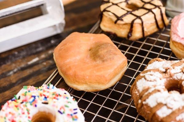 Nutella Filled Donut