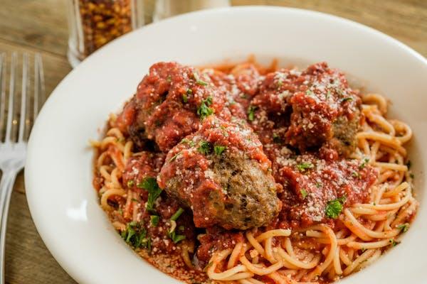 Kid's Spaghetti w Meatballs