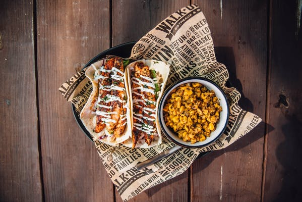 Blackened Redfish Tacos