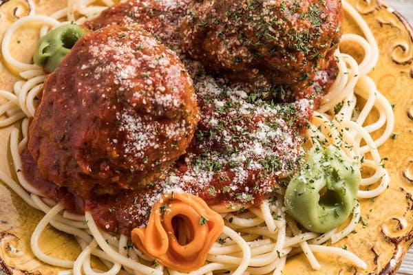 Kid's Spaghetti & Meatball