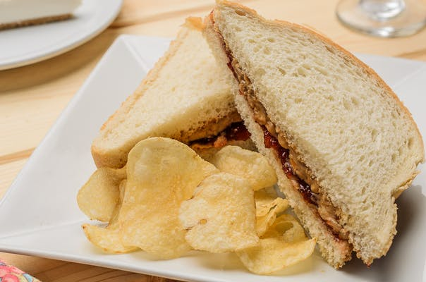Kid's Peanut Butter & Jelly Sandwich