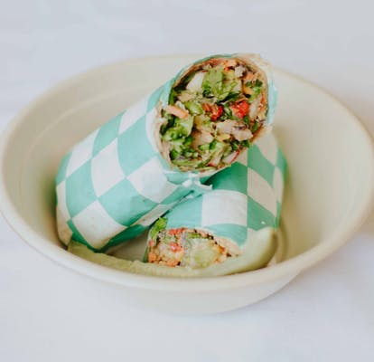 Shrimp Taco Wrap