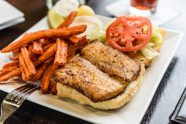 Blackened Mahi Sandwich