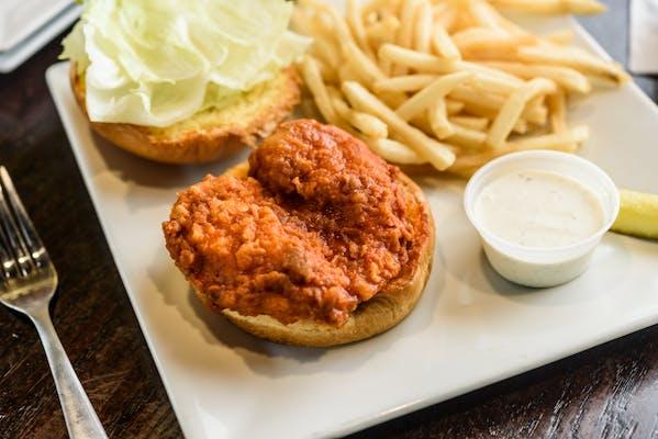 Buffalo Chicken Wrap or Sandwich