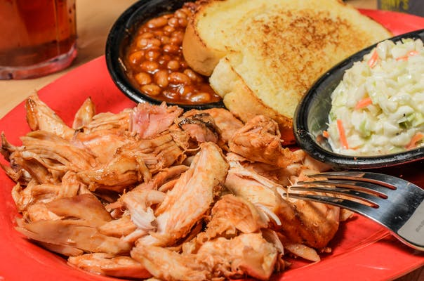 Pulled Chicken Plate