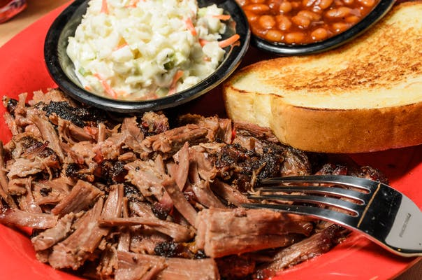 Chopped Beef Brisket Plate