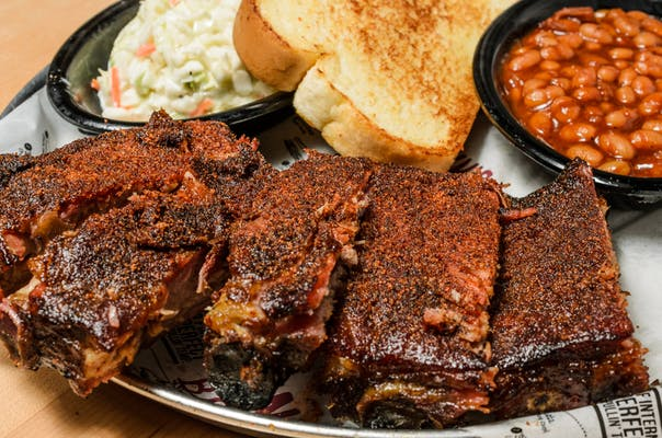 House Dry-Rubbed St. Louis Rib Plate